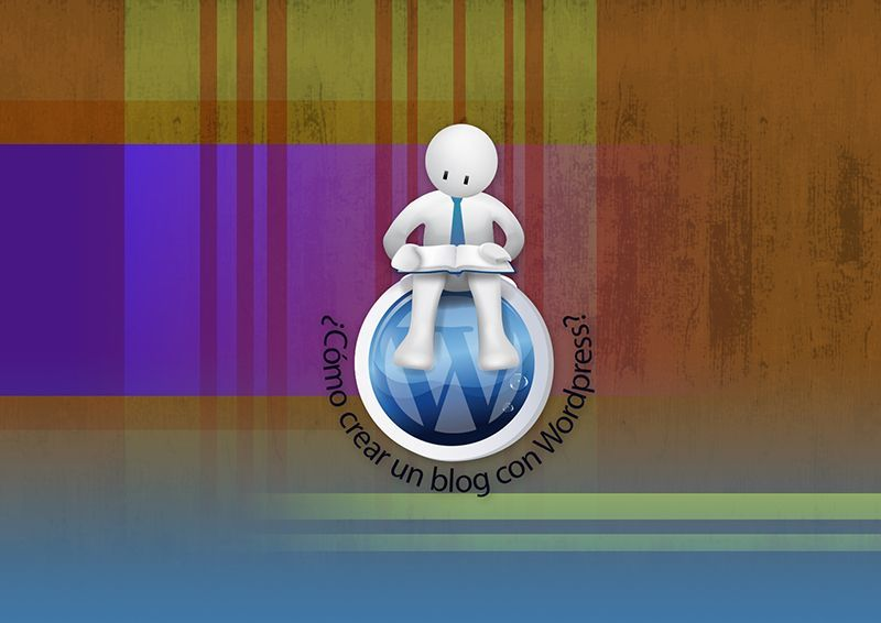 "Logo - Blog ""Cómo crear un blog con WordPress"""